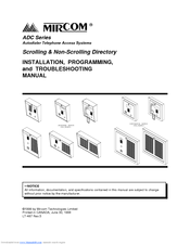 816565_adc_series_product mircom adc series manuals on mircom intercom wiring diagram