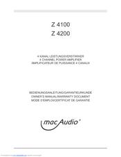 Инструкция mac 4100