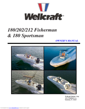 WELLCRAFT FISHERMAN 180 OWNER'S MANUAL Pdf Download. on
