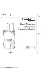 meijer hamilton beach food processor manuals rh manualslib com hamilton beach food processor manual 70590 hamilton beach food processor manual 70560r