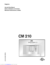 gaggenau cm 210 manuals rh manualslib com User Manual PDF gaggenau user manual
