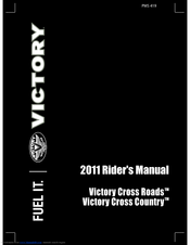 Victory 2011 Cross Roads Service Manual