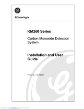 GE KM260 Series Installation And User Manual