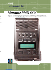 marantz pmd660 manuals rh manualslib com Instruction Manual Example Instruction Manual