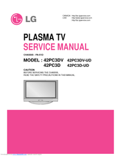 lg 42pc3dv ud manuals rh manualslib com Parts Manual HP Owner Manuals