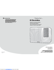 Electrolux EAWE09E6CJW Instruction Manual