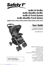 safety 1st acella lx travel system manuals rh manualslib com safety first manual safety 1st manual carrinho