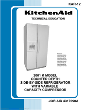 KITCHENAID KSBP25FKSS00 TECHNICAL EDUCATION Pdf Download. on ice maker wiring diagram, maytag wiring diagram, kitchenaid range wiring diagram, kenmore wiring diagram,