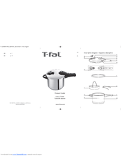 T-Fal Pressure Cooker User Manual