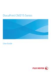 FUJI XEROX DOCUPRINT CM215 SERIES USER MANUAL Pdf Download