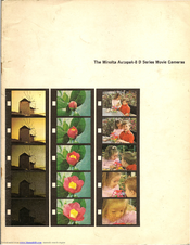 Minolta Autopak-8 D10 Manuals