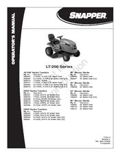 snapper lt 200 series manuals rh manualslib com Snapper LT200 Riding Mower snapper lt 200 20 hp manual