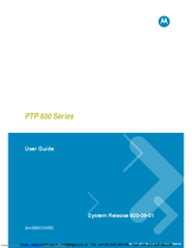 Motorola ptp 600 user manual   page 7 / 8   also for: gps-100m.