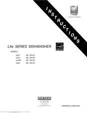 Hobart LXeH Manuals on