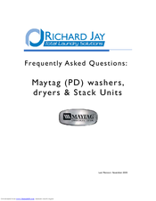 Maytag PD Questions
