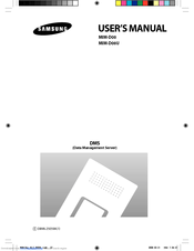 Samsung MIM-D00 User Manual
