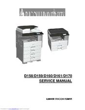 lanier d158 service manual pdf download rh manualslib com Lanier Fax Machine New Lanier LF411 Fax Machine