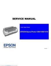 epson stylus photo 1410 series manuals rh manualslib com Repair Manuals Yale Forklift Repair Manuals Yale Forklift