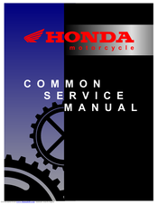 honda nhx110 service manual