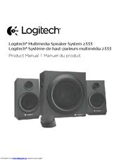 LOGITECH Z333 PRODUCT MANUAL Pdf Download
