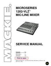 mackie 1202 vlz microseries manuals rh manualslib com Manual Book Repair Manuals