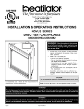 Heatilator nd3630 manuals heatilator nd3630 installation operating instructions manual asfbconference2016 Gallery