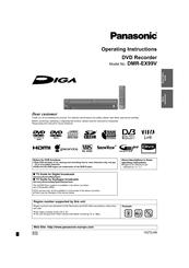 panasonic dmr ex99v manuals rh manualslib com panasonic dmr manual ez49z panasonic dmr-ez485v manual
