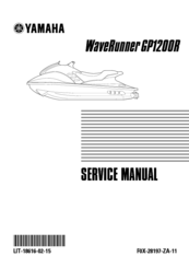 Yamaha WaveRunner GP1200R Service Manual