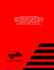tecumseh hsk70 manuals rh manualslib com Tecumseh Engine Schematics Tecumseh Hm100 Carburetor Diagram