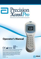 Abbott Precision Xceed Pro Manuals