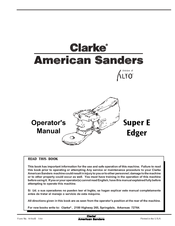 Clarke Super 7R Edger Wiring Diagram from data2.manualslib.com