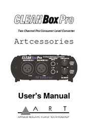 2 Kanal Pegelkonverter ART Clean Box Pro RETOURE