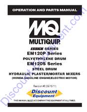 MULTIQUIP ESSICK SERIES OPERATION AND PARTS MANUAL Pdf Download