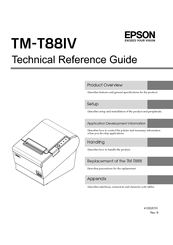 Epson TM-T88IV ReStick Manuals | ManualsLib