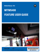 Motorola MTM5400 Feature User Manual