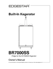 edgestar br7000ss manuals rh manualslib com edgestar kegerator manual br3001bl edgestar kegerator manual br3001bl