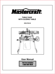Mastercraft 055 6742 8 manuals mastercraft 055 6742 8 user manual 38 pages table saw keyboard keysfo Gallery