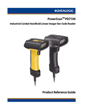 DATALOGIC POWERSCAN PD7100 PRODUCT REFERENCE MANUAL Pdf