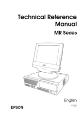 Epson DM-M820 Technical Reference Manual
