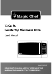 magic chef mcm1310st manuals rh manualslib com Microwave Convection Oven Kenmore Elite Oven Manual