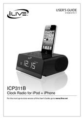ilive icp311b manuals rh manualslib com ilive portable radio manual ilive under counter radio manual
