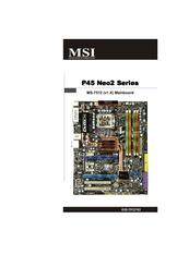 Msi k8n neo2-f nvidia socket 939 atx motherboard / audio / agp 8x.