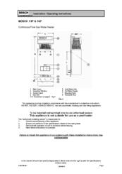 bosch 16p manuals rh manualslib com Bosch AquaStar 125B Ng Parts Bosch AquaStar Replacement Parts