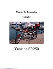 yamaha sr250 manuals rh manualslib com sr250 yamaha manual sr250 yamaha manual