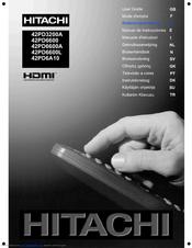 hitachi 42pd6600 manuals rh manualslib com Hitachi TV Repair Manual hitachi 42pd6600 user manual