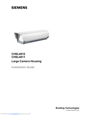 Siemens CHSL4010 Installation Manual