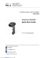 Motorola DS4208 Quick Start Manual