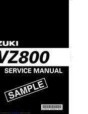suzuki vz800 service manual pdf download