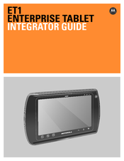 Motorola ET1 Integrator Manual