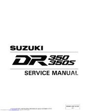 suzuki dr350 service manual pdf download rh manualslib com suzuki dr 350 manual pdf suzuki dr 350 manual free download